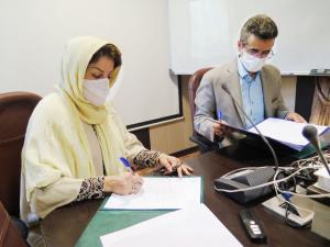 تفاهم نامه با جهاد دانشگاهی
